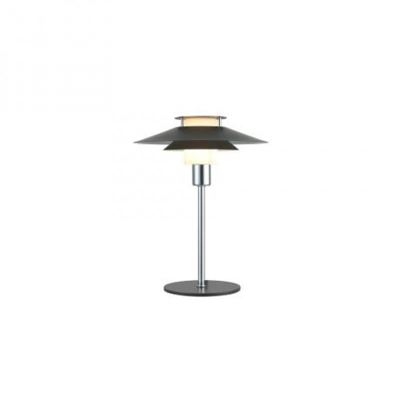 Halo Design Rivoli Bordlampe Ø24 Sort-Krom