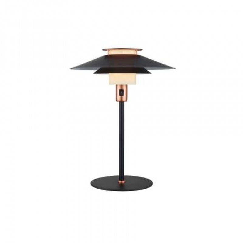Halo Design Rivoli Bordlampe Ø40 Sort-Kobber
