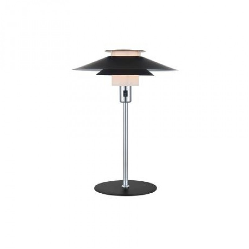 Halo Design Rivoli Bordlampe Ø40 Sort-Krom