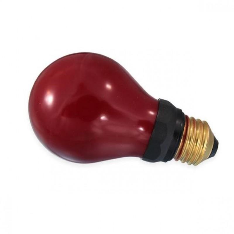 Mørkekammer Pære Rød 15W 230V E27