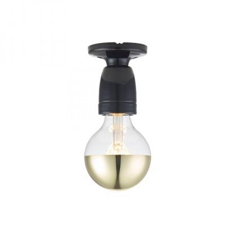 Halo Design Porcelain Væg/Loftlampe Sort