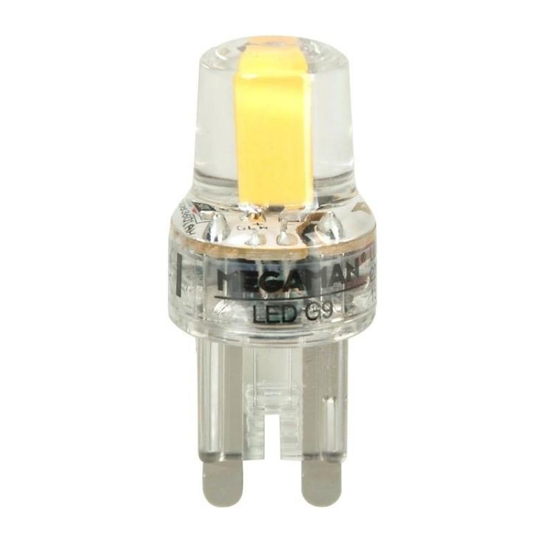 LED 2W G9 2800K 180LM