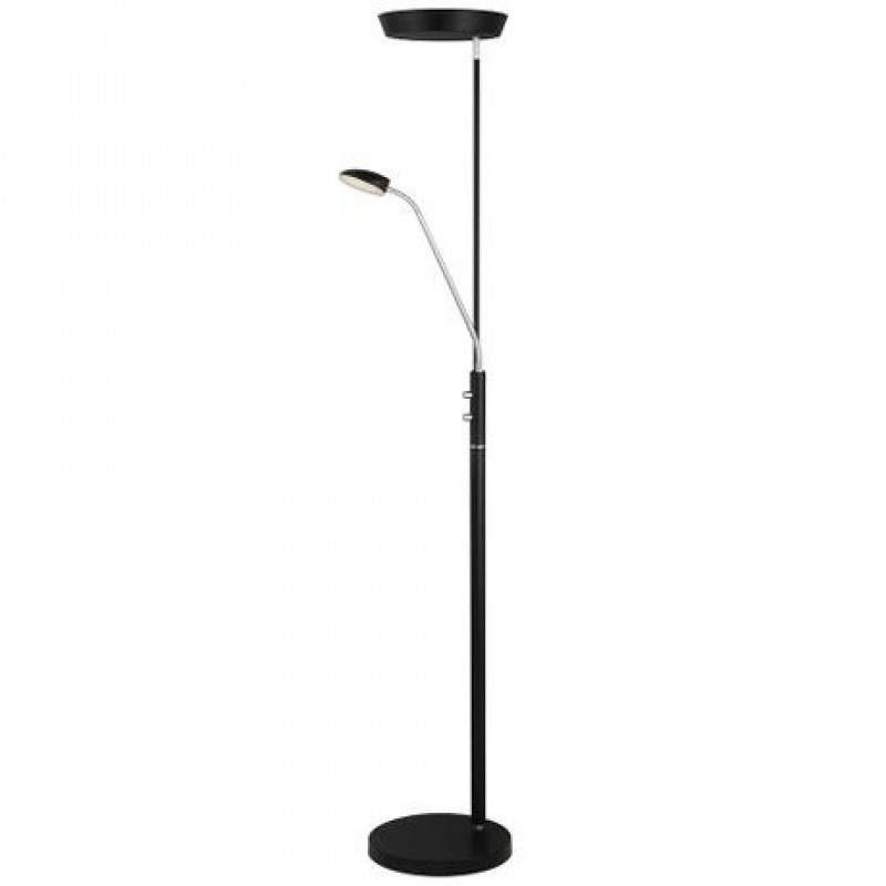 Halo Design Vegas Combi Gulvlampe Sort
