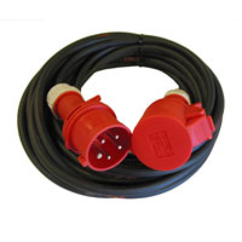 Kabelsæt CEE 16A neopren 5G1,5 10m