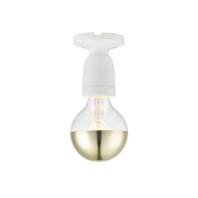 Halo Design Porcelain Væg/Loftlampe Hvid