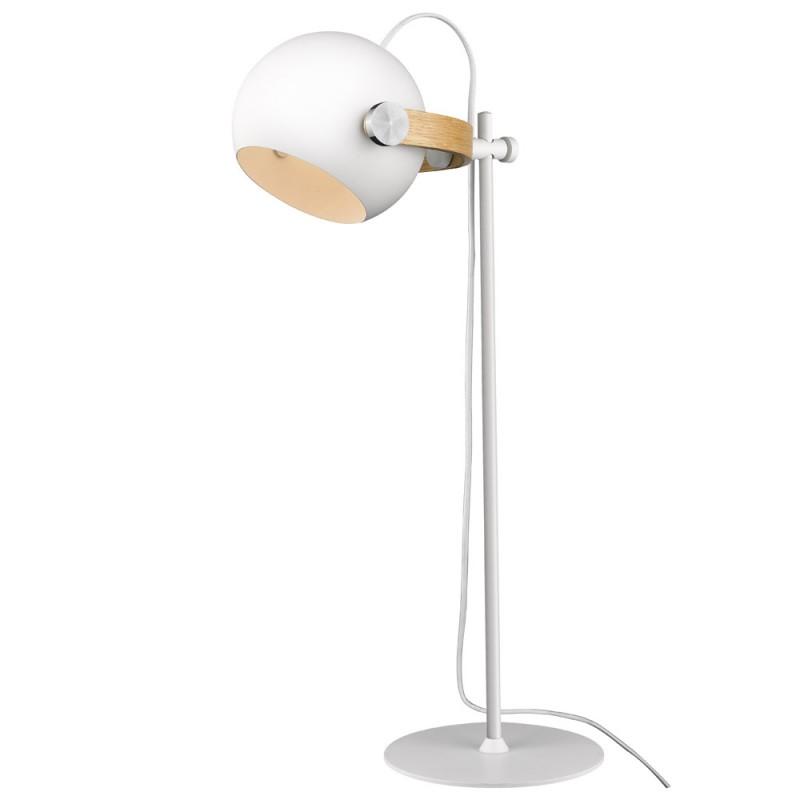 Halo Design D.C Bordlampe ø18 E27, hvid / eg