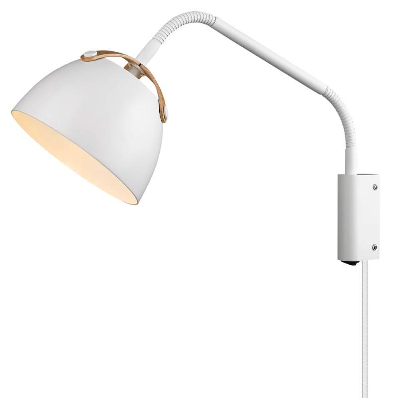 Halo Design OSLO Væglampe ø16 hvid-eg