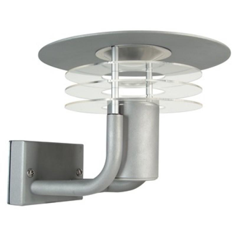 SESLEF PAGODE WALL grå coated stål
