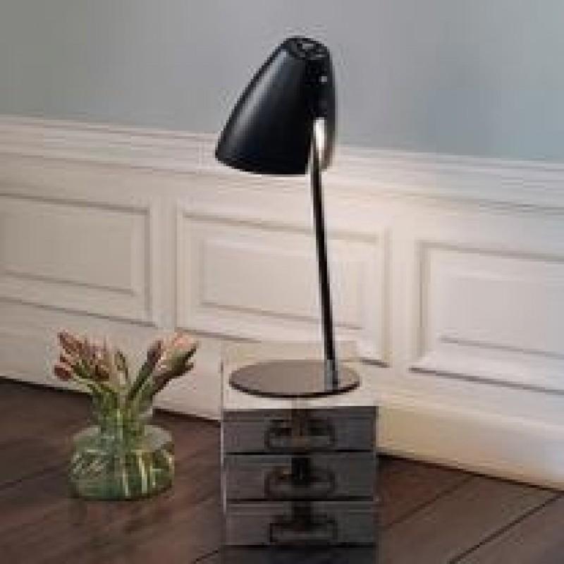 Halo Design Kick Bordlampe Sort