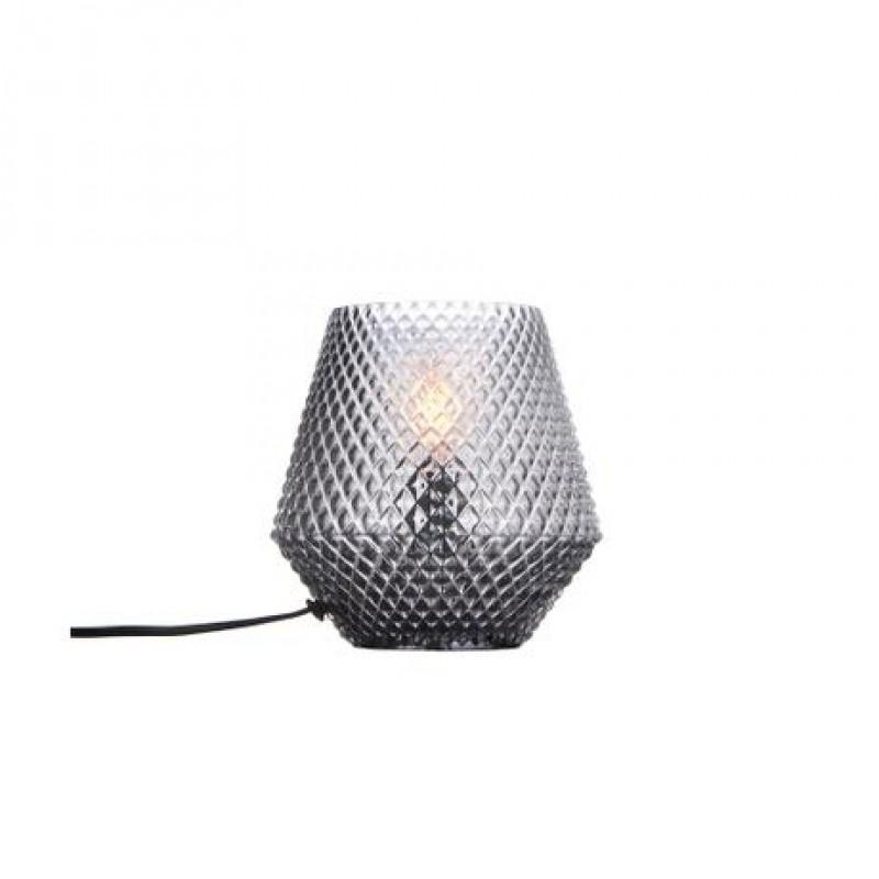 Halo Design Nobb Edgy Bordlampe Smoke