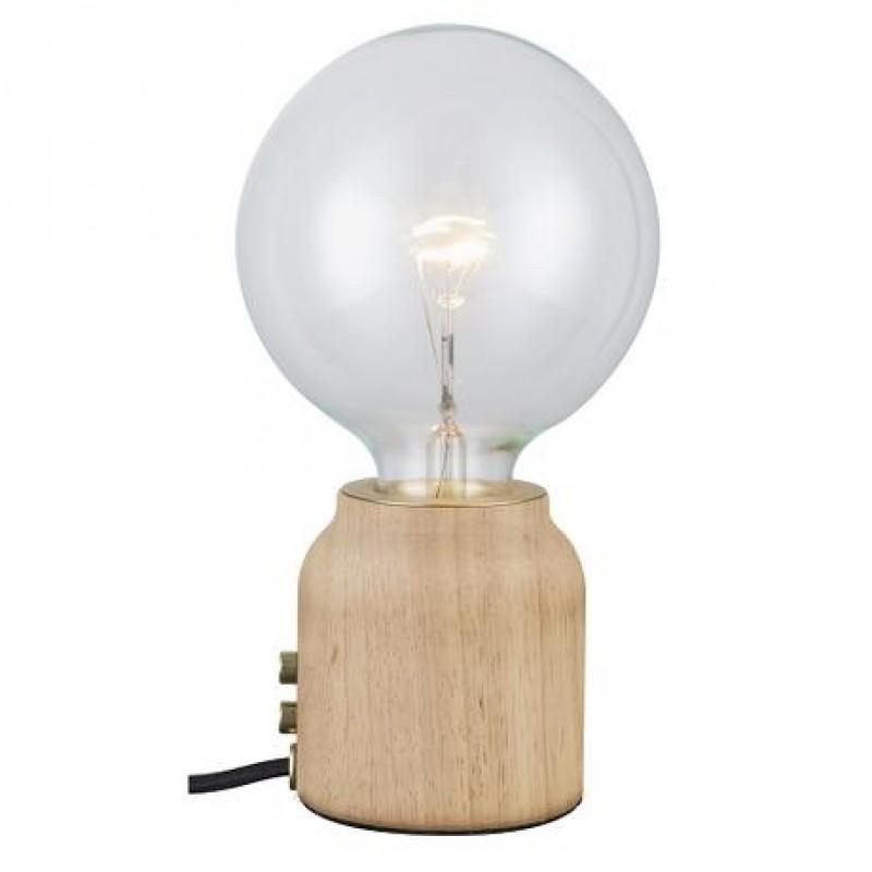Halo Design Base One Bordlampe Lyst Træ