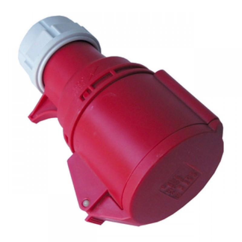 CEE forlængerled 32/400V IP44 rød