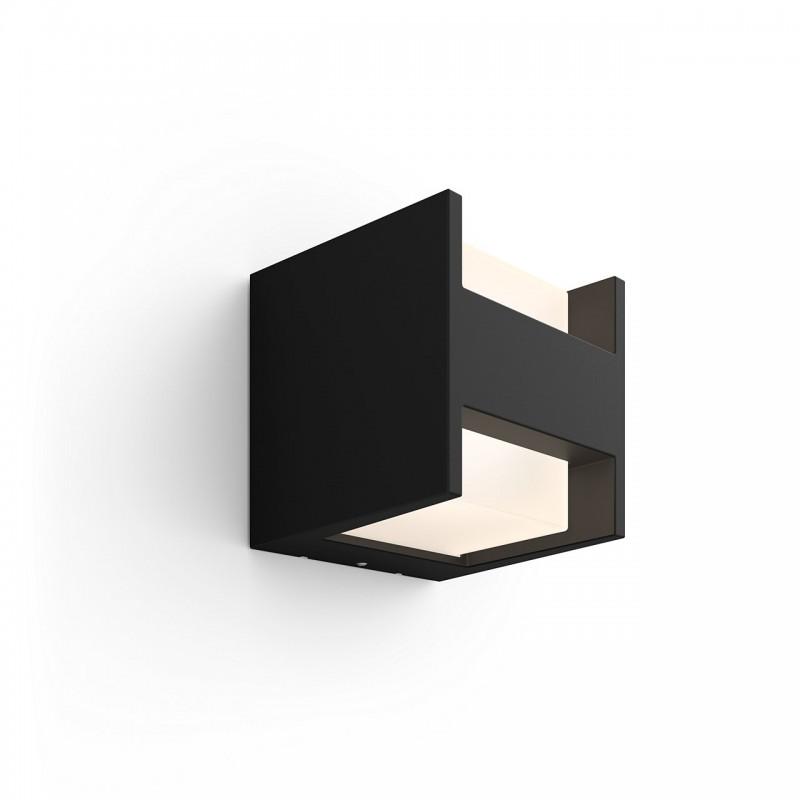 Philips Hue Fuzo Udendørs Væglampe Kvadratisk Up/Down