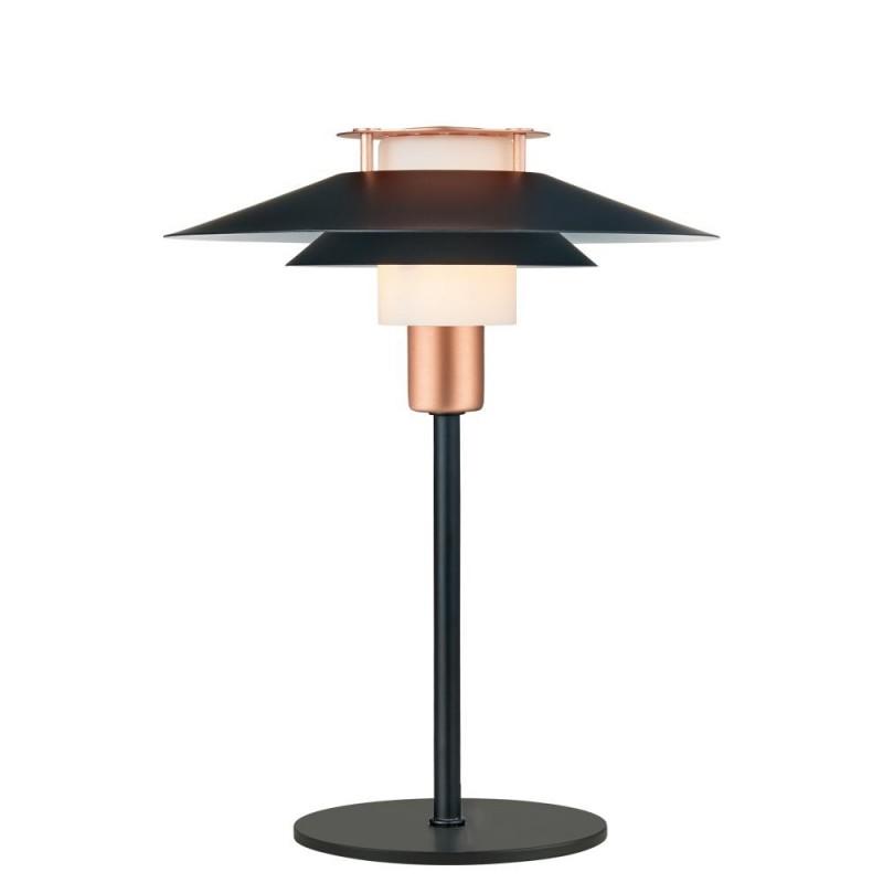 Halo Design Rivoli Bordlampe Ø24 Sort-Kobber