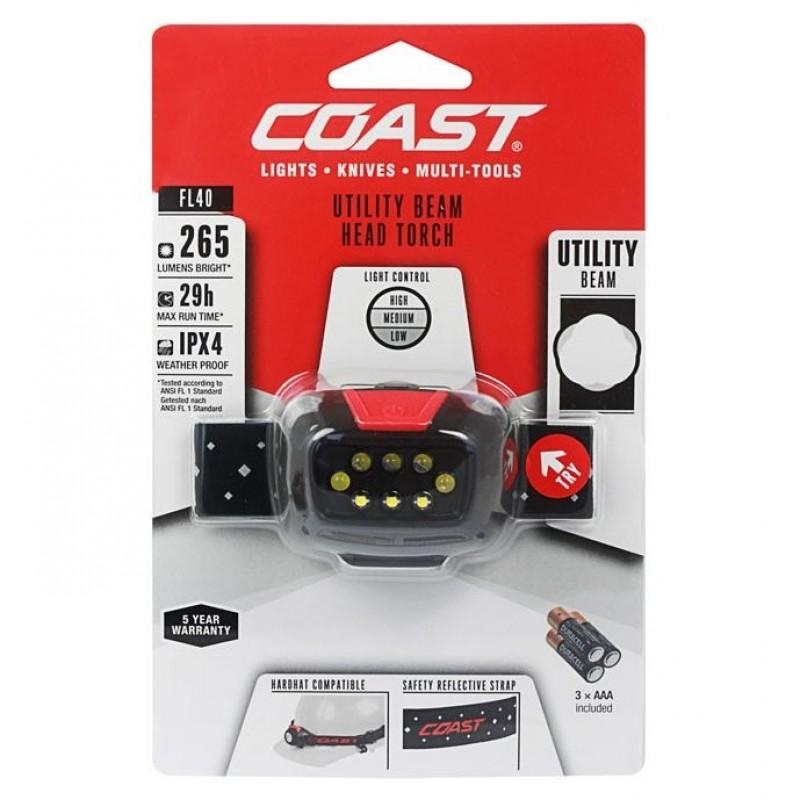 COAST FL40 LED Pandelampe (265 lumen)