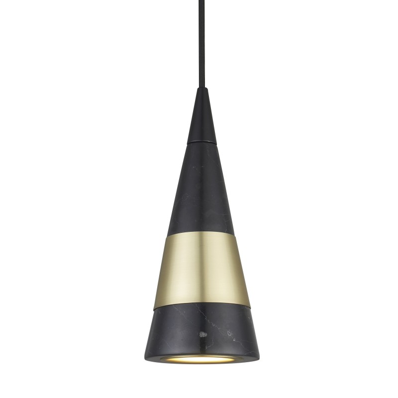 WATT A LAMP DIRECT Pendel Ø11 cm, Sort marmor