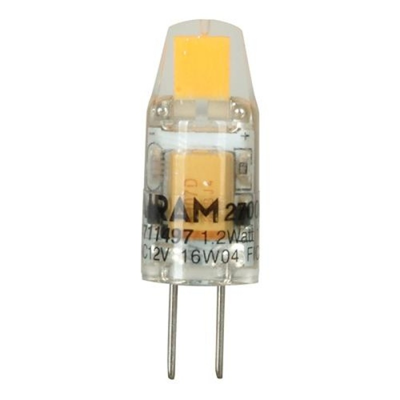 LED 1,2W 12V G4 2700K 100LM