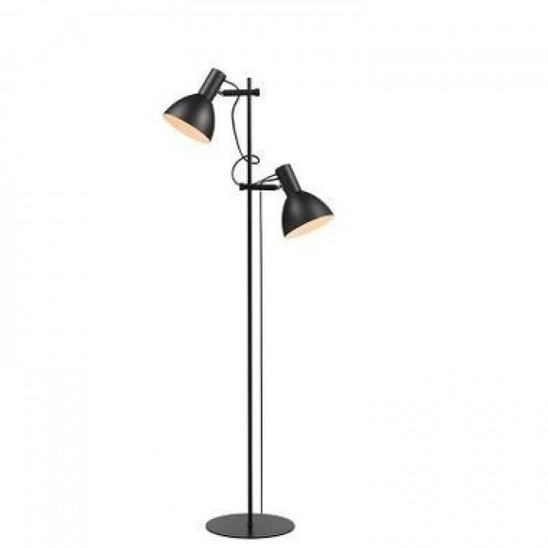 Halo Design Baltimore Gulvlampe Sort (2 lamper)