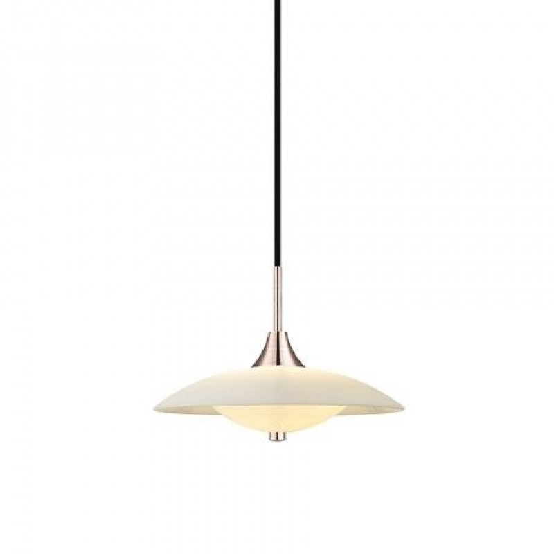 Halo Design Baroni LED Pendel Opal Ø30 Kobber