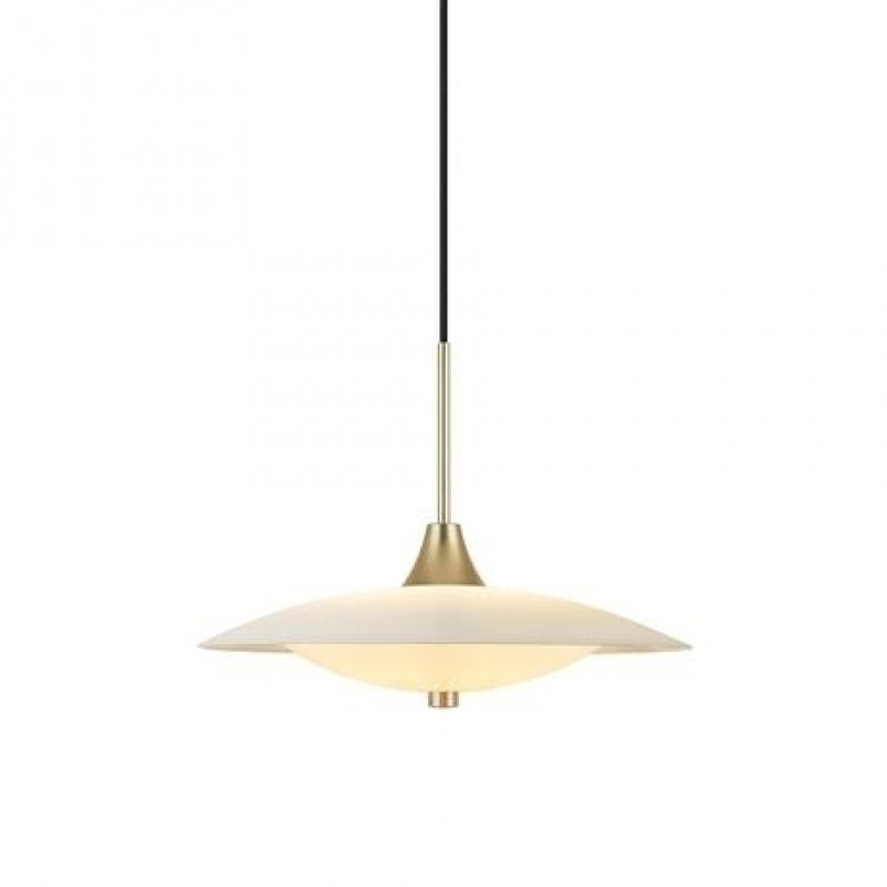 Halo Design Baroni LED Pendel Opal Ø40 Messing