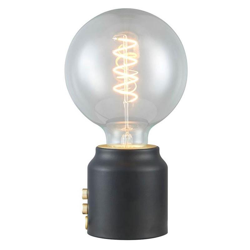 Halo Design Base One bordlampe Sort
