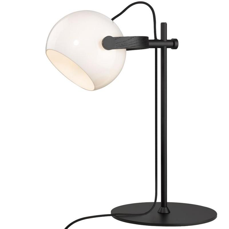 Halo Design D.C bordlampe ø18 E27, Opalic m, eg-sort