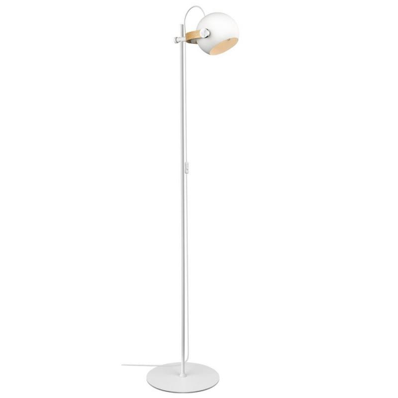 Halo Design D.C Gulvlampe 1L ø18 E27, hvid / eg