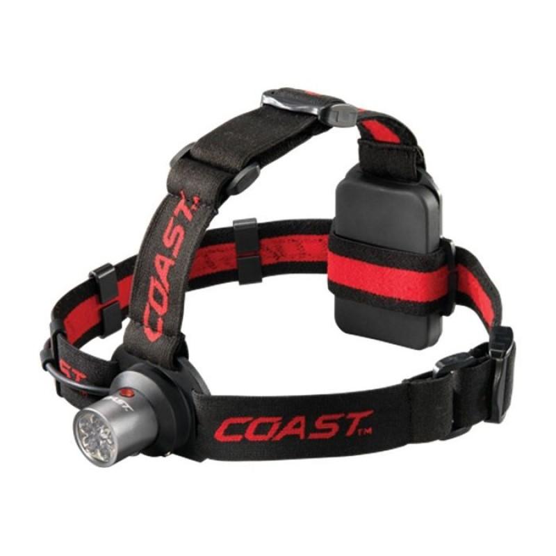 COAST HL4 LED Pandelampe (144 lumen) med rødt & hvidt lys