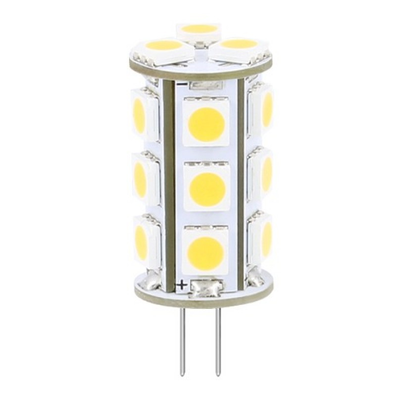 LED pære 12v G4 (stjernehimmel) 2 stk pakke