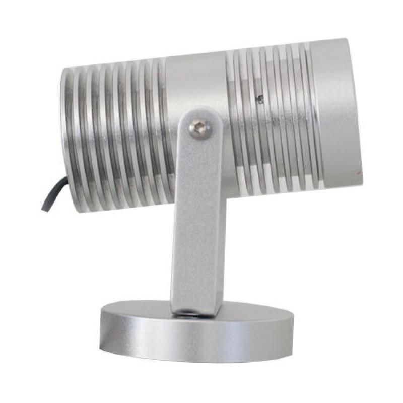 LED Spot Lumibeam X7, Alu 6W varm hvid