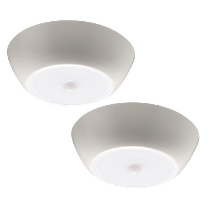Mr Beams UltraBright Ceiling Light 2-Pak Hvid