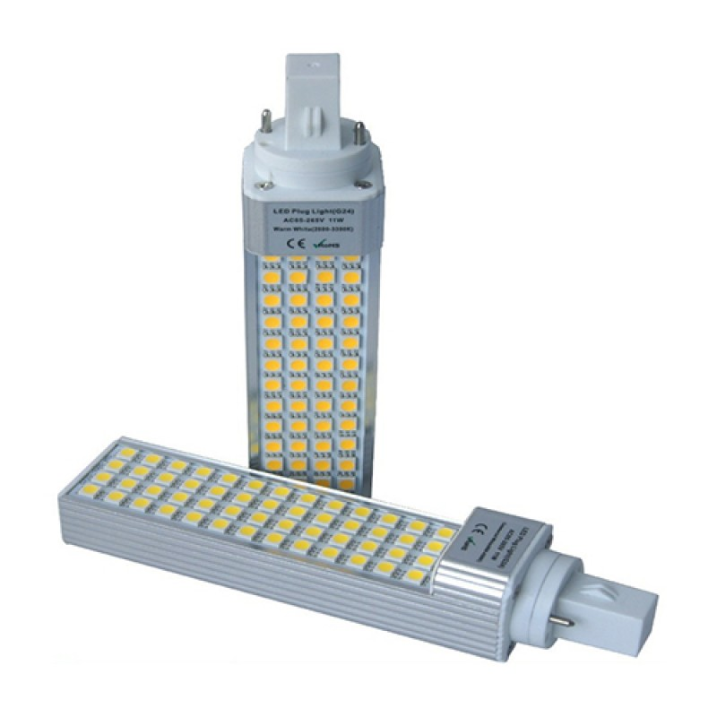 PL LED 5W 230V G24d 2 pin
