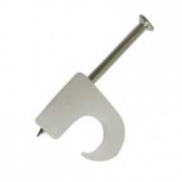Kabelclips rund 5-7mm (100 stk) natur-20