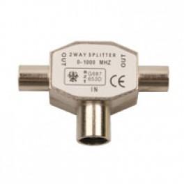 Antennefordeler standard 1 hun til 2 han-20