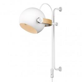 Halo Design D.C Væglampe ø18 long E27, hvid / eg-20