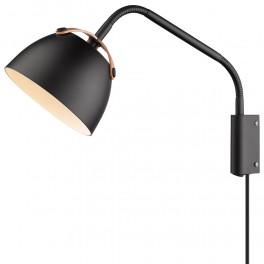 Halo Design OSLO Væglampe ø16 sort-eg-20
