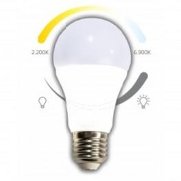 Casambi LED pære 8W E27 740LM 2200K-6900K-20