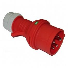 CEE Fasevender Stikprop 16/400V IP44 rød-20