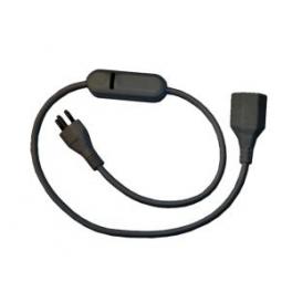 LIGA.AIR.REL.240.T13B 1 polet switch relæ, sort (Forlængerledning)-20