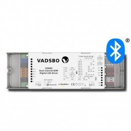 Vadsbo SSW60WCM bluetooth driver/dæmper-20