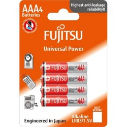 Fujitsu AAA / LR03 Universal Power - 4 stk. batterier