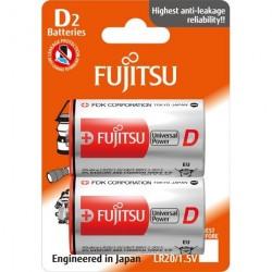 Fujitsu D / LR20 Mono Universal Power - 2 stk. batterier
