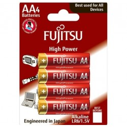 Fujitsu AA / LR06 High Power - 4 stk. batterier