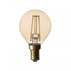 LED KRONE ANTIQUE 2W E14 220LM 2200K