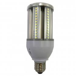 LED Parklampe 12W E27 Kold hvid