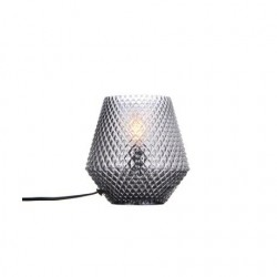 Halo Design Nobb Edgy Bordlampe Smoke