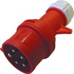 CEE stikprop 16/400V IP44, rød