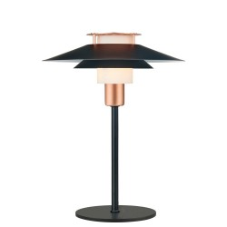 Halo Design Rivoli Bordlampe Ø24 Sort-Kobber
