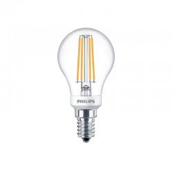 Philips LED Klar Kronepære 5W E14 P45 470LM 2700K Dæmpbar