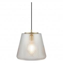 WATT A LAMP DAMN FASHIONISTA Pendel Ø30 klar/messing